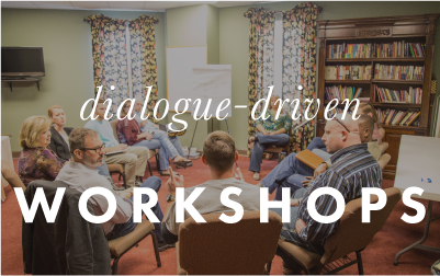 dialogue-driven workshops image button